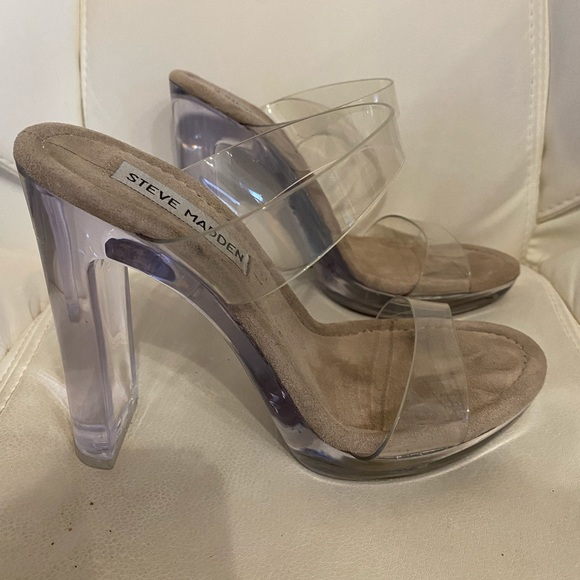 Steve Madden Glassy Heels